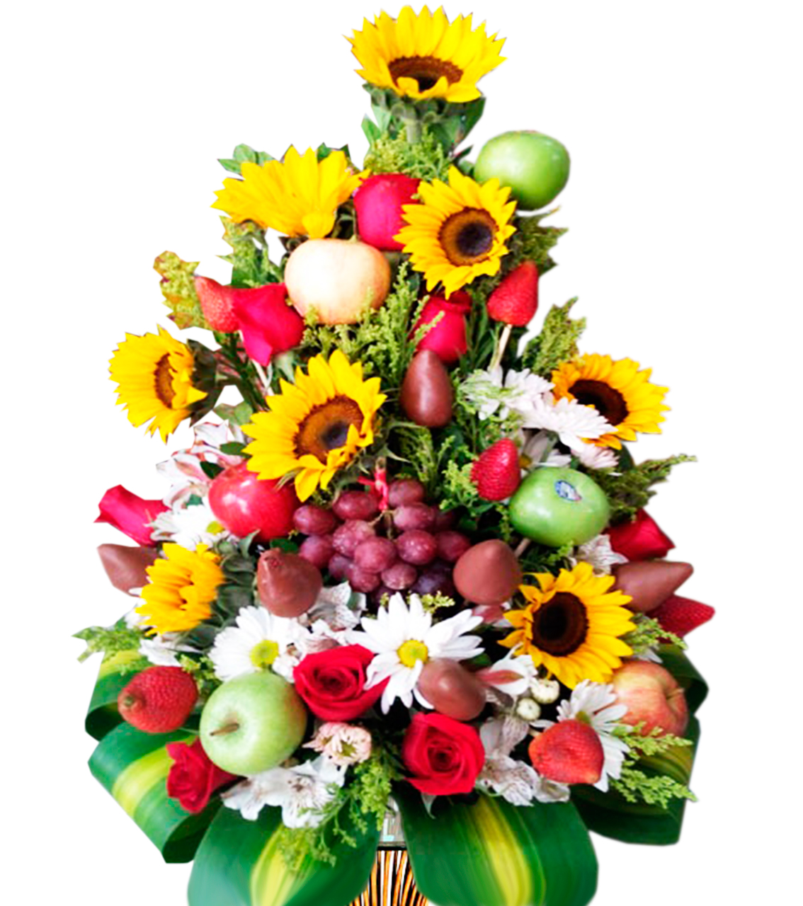 Bouquet Girasol con frutas