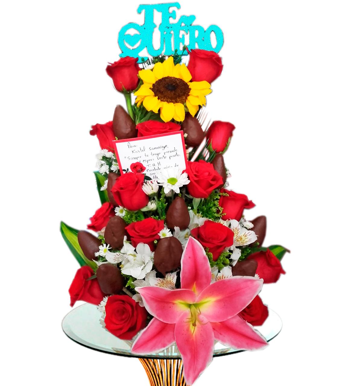 Bouquet Choco Detalle