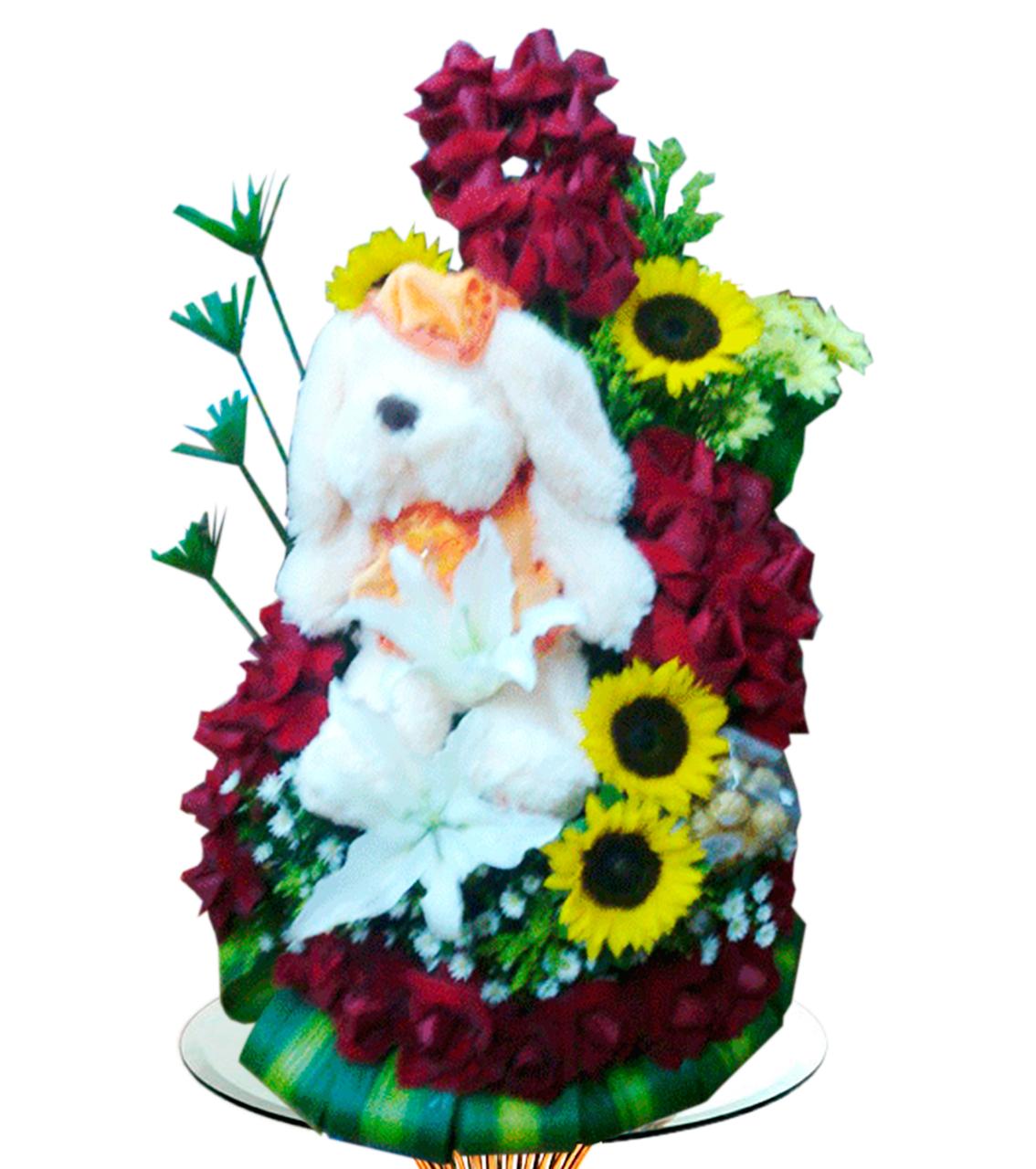 Bouquet con Peluche