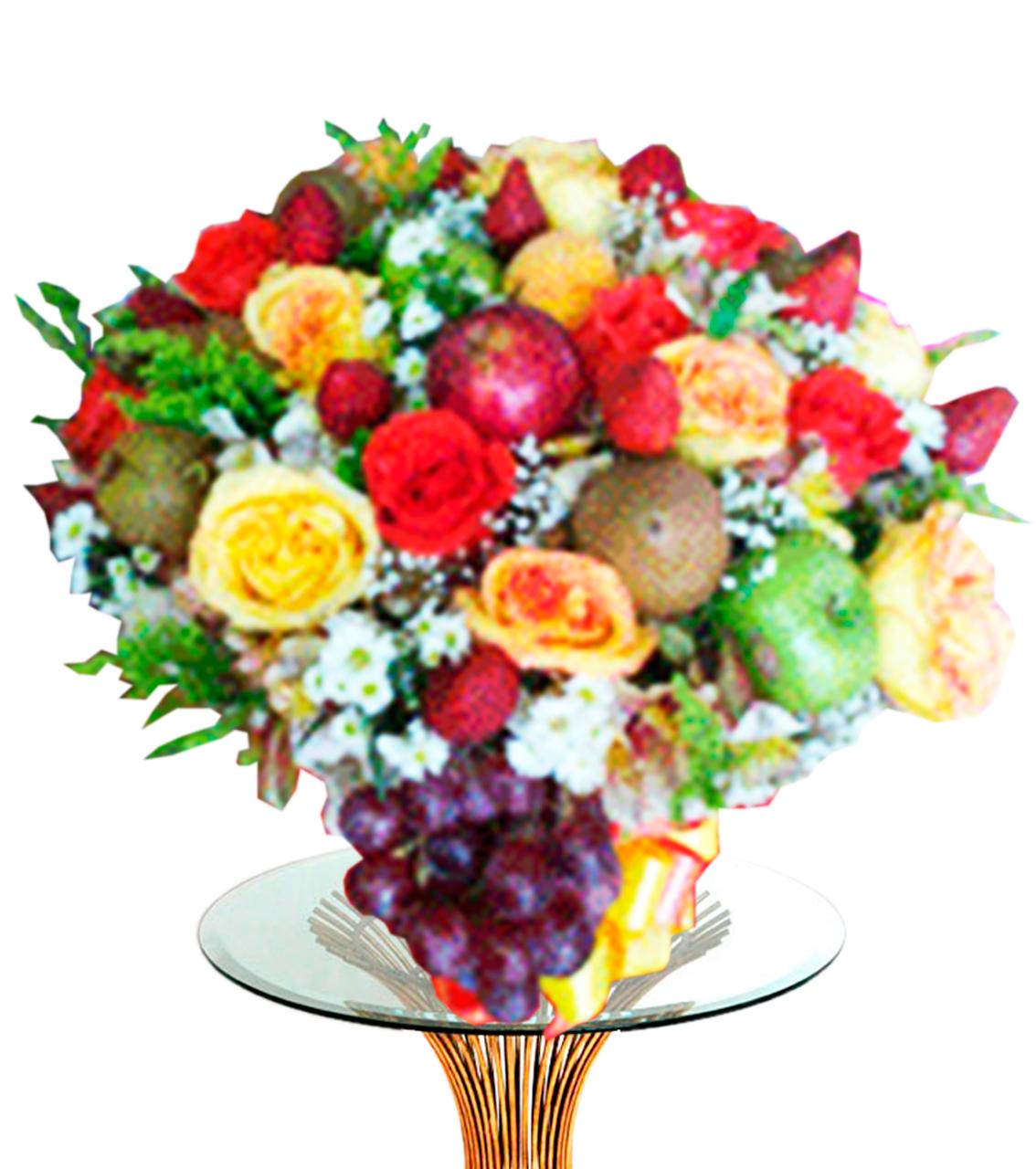 Bouquet con Frutas