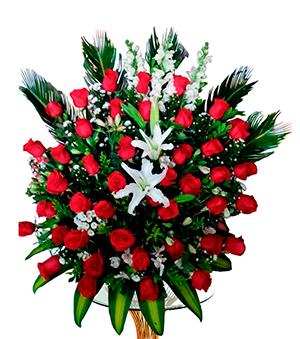 Bouquet de Rosa y Lirio