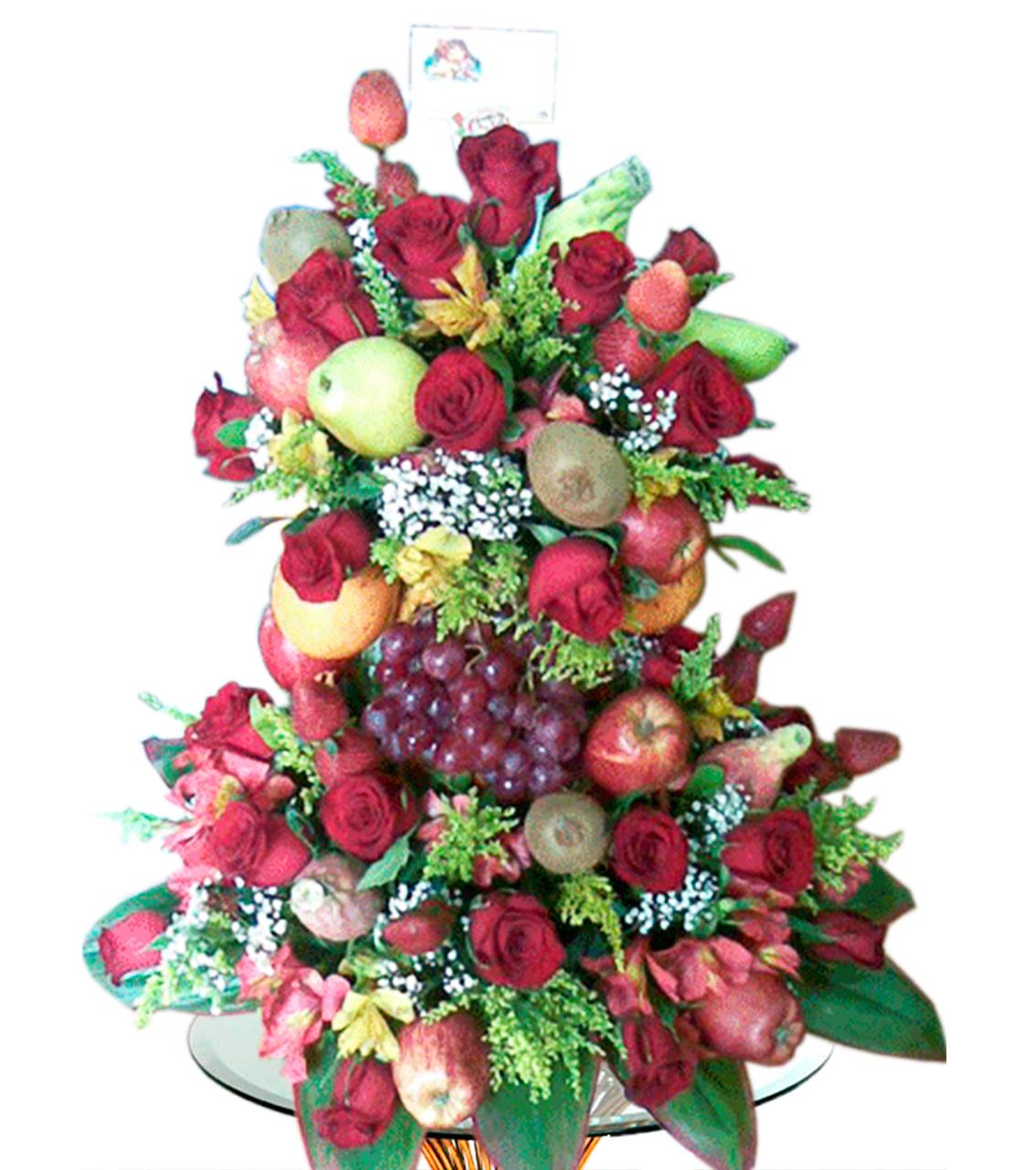Bouquet con Frutas Diversas