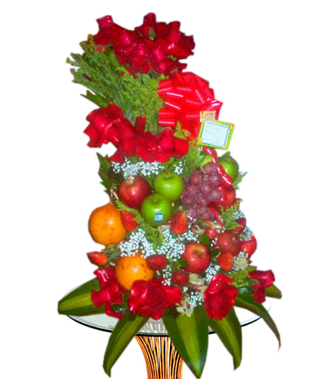 Bouquet con Frutas Recargada
