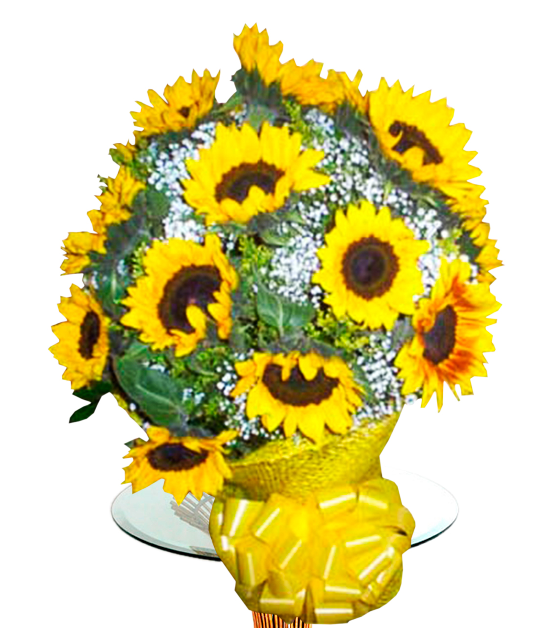 Bouquet en base de girasoles